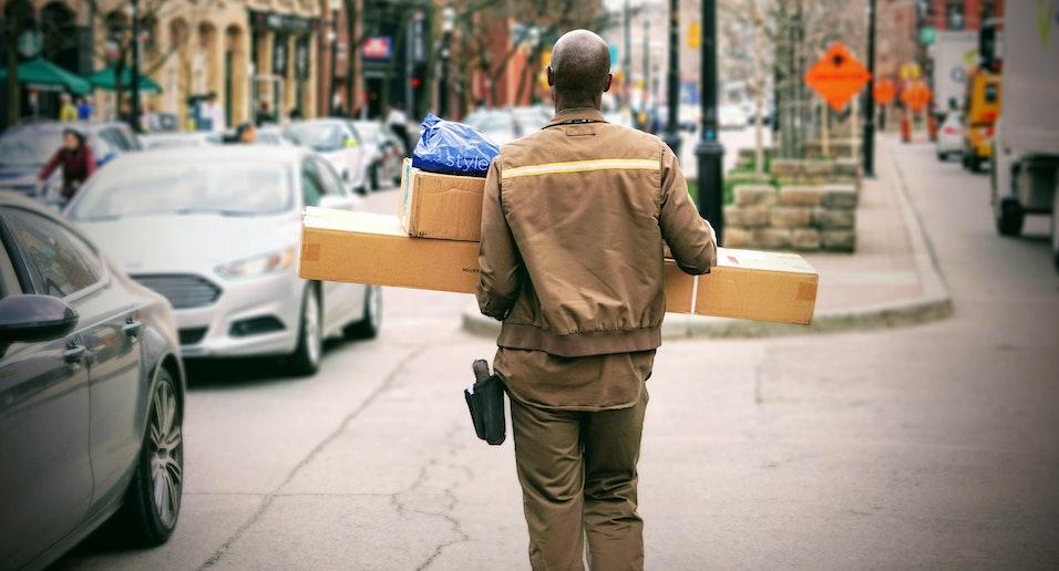 Nadanie paczki UPS